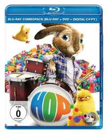 HOP (Blu-ray + DVD + Digital Copy), Blu-ray Disc
