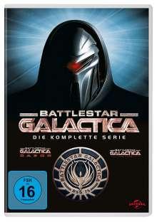 Battlestar Galactica (Komplette Serie), 25 DVDs