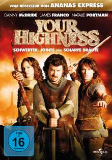Your Highness, DVD