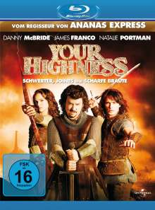 Your Highness (Blu-ray), Blu-ray Disc