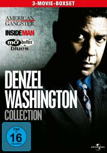 Denzel Washington Collection, 3 DVDs