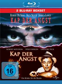 Kap der Angst (1961 & 1991) (Blu-ray), 2 Blu-ray Discs