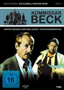 Kommissar Beck - Die Sjöwall-Wahlöö Serie Teil 3, 2 DVDs