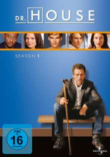 Dr. House Season 1, 6 DVDs