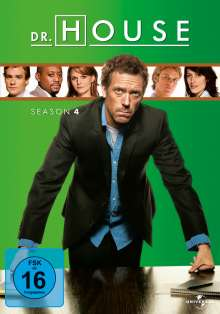 Dr. House Season 4, 4 DVDs