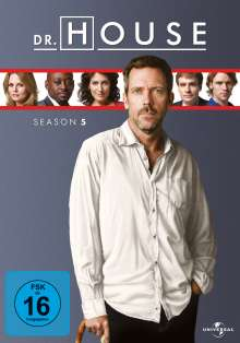 Dr. House Season 5, 6 DVDs