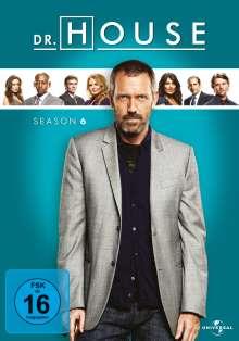 Dr. House Season 6, 6 DVDs