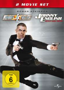 Johnny English 1 & 2, 2 DVDs