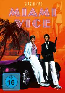 Miami Vice Season 5, 6 DVDs
