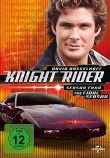 Knight Rider Season 4, 6 DVDs