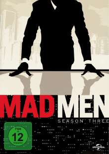 Mad Men Season 3, 4 DVDs