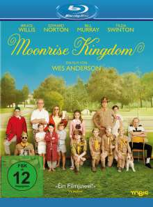 Moonrise Kingdom (Blu-ray), Blu-ray Disc