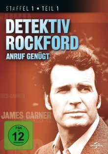 Detektiv Rockford - Anruf genügt Staffel 1 Box 1, 4 DVDs
