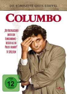 Columbo Staffel 1, 6 DVDs