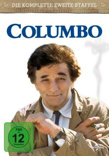 Columbo Staffel 2, 4 DVDs