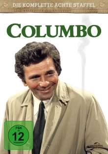 Columbo Staffel 8, 3 DVDs