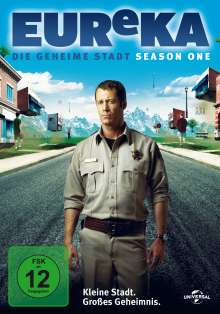 Eureka Season 1, 3 DVDs