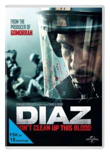 DIAZ - Don't Clean Up This Blood, DVD