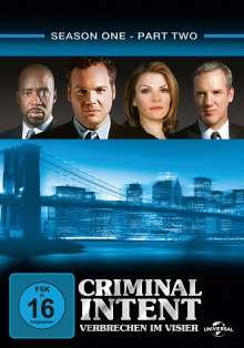 Criminal Intent Season 1 Box 2, 3 DVDs