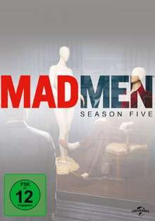 Mad Men Season 5, 4 DVDs