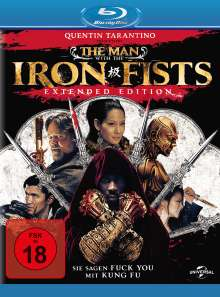 The Man With The Iron Fists (Blu-ray), Blu-ray Disc