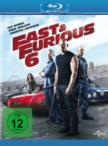 Fast & Furious 6 (Blu-ray), Blu-ray Disc