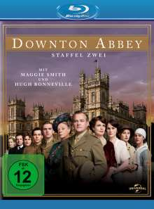 Downton Abbey Season 2 (Blu-ray), 4 Blu-ray Discs