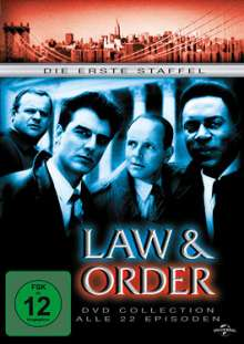 Law And Order Season 1, 6 DVDs