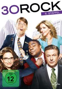 30 Rock Season 5, 3 DVDs