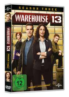 Warehouse 13 Season 3, 3 DVDs