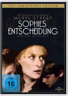 Sophies Entscheidung, DVD