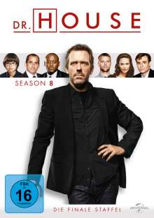 Dr. House Season 8 (finale Staffel), 6 DVDs