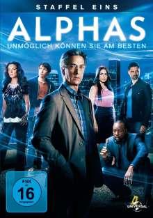 Alphas Season 1, 3 DVDs