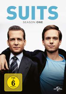 Suits Season 1, 4 DVDs