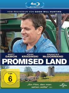 Promised Land (Blu-ray), Blu-ray Disc
