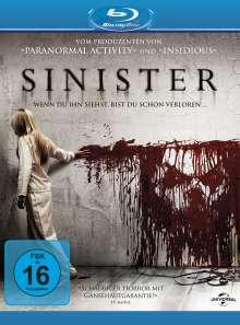 Sinister (Blu-ray), Blu-ray Disc