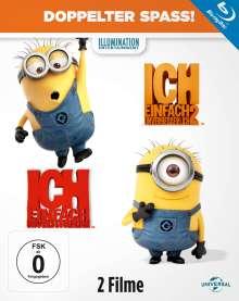 Ich - Einfach unverbesserlich 1 & 2 (Blu-ray), 2 Blu-ray Discs