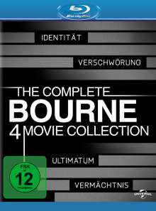 The Complete Bourne 4 Movie Collection (Blu-ray), 4 Blu-ray Discs