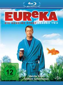 Eureka Season 2 (Blu-ray), Blu-ray Disc