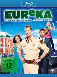 Eureka Season 3 (Blu-ray), Blu-ray Disc