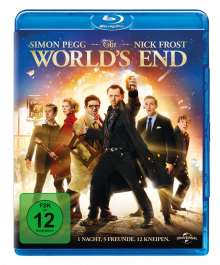 The World's End (Blu-ray), Blu-ray Disc