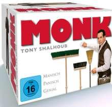 Monk (Komplette Serie), 32 DVDs