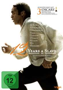 12 Years A Slave, DVD