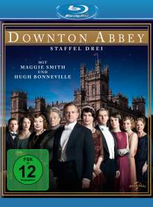 Downton Abbey Season 3 (Blu-ray), 3 Blu-ray Discs