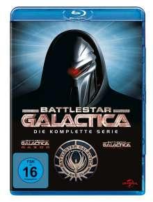 Battlestar Galactica (Komplette Serie) (Blu-ray), 22 Blu-ray Discs