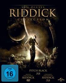 Riddick Collection (2 Blu-ray + DVD), 2 Blu-ray Discs