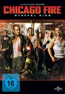 Chicago Fire Season 1, 6 DVDs