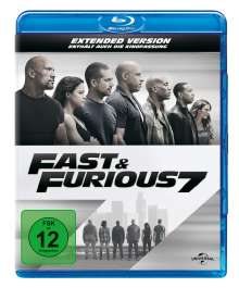 Fast & Furious 7 (Blu-ray), Blu-ray Disc