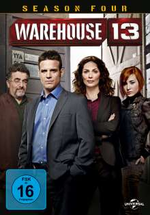 Warehouse 13 Season 4, 5 DVDs
