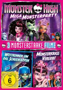 Monster High - 3 Monsterstarke Filme, 2 DVDs